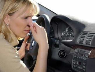 smell gasoline in the car